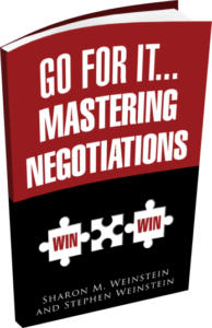 Go for it... Mastering Negotiations